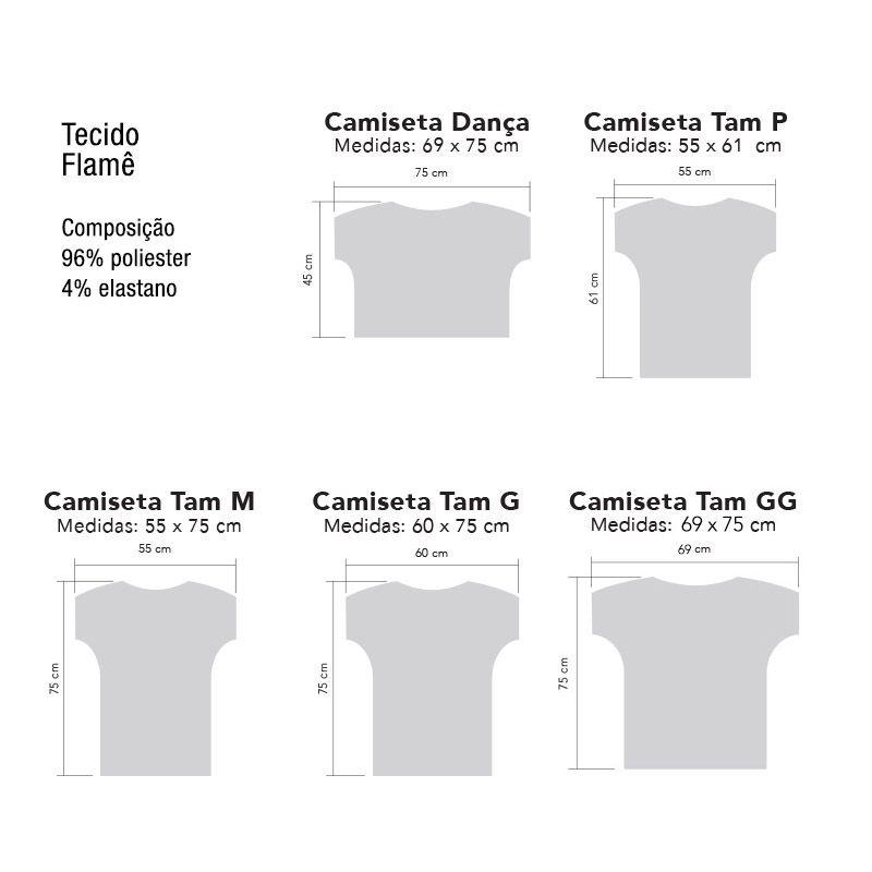 Camiseta . Aquarela Cambret