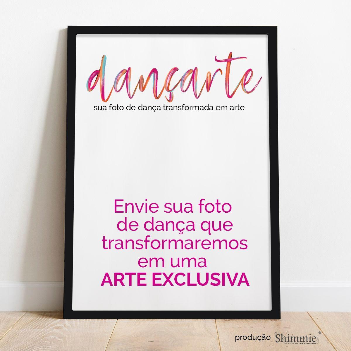 Dançarte . sua foto de dança transformada em arte