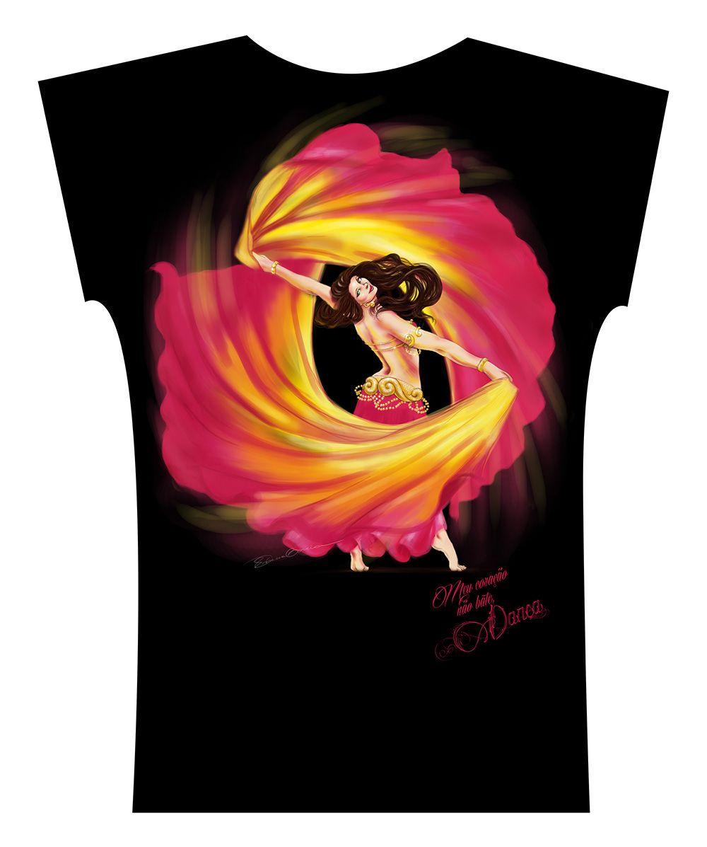 Camiseta . Aquarela 2 Véus
