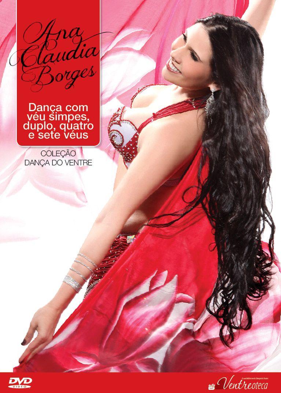 DVD. Dança com Véu Simples, Duplo, Quatro e Sete Véus . Ana Claudia Borges