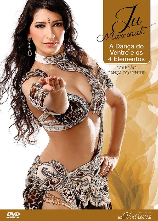 DVD. A Dança do Ventre e os 4 Elementos . Ju Marconato