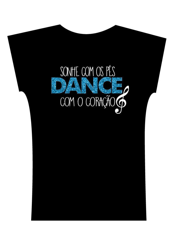 Camiseta . Sonhe