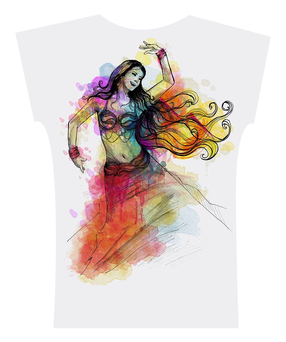 Camiseta . Aquarela Grafite