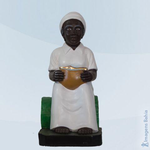 Imagem de Preta velha para batismo