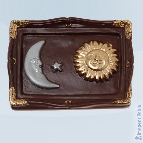 Imagem de Quadro com Sol, Lua e Estrela