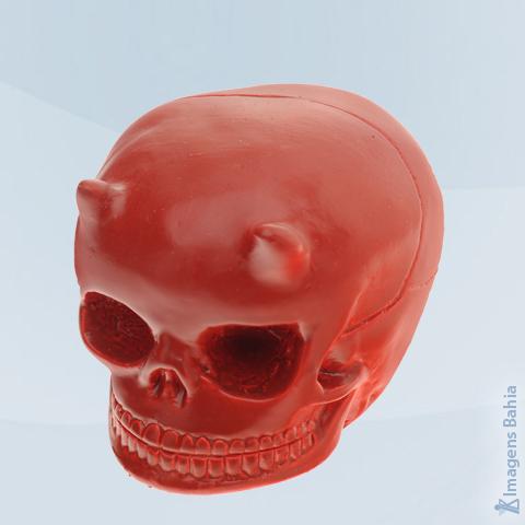 Imagem de Cranio Diabo(Vermelho)