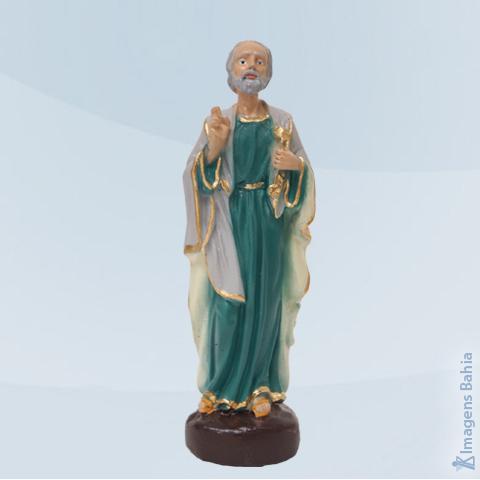 Imagem de São Pedro em resina
