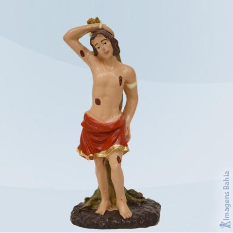 Imagem de São Sebastião em resina