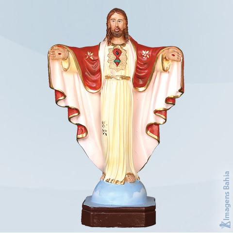 Imagem de Cristo Redentor (Manto Vermelho)