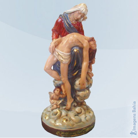 Imagem de Nossa Senhora da Piedade linha barroca