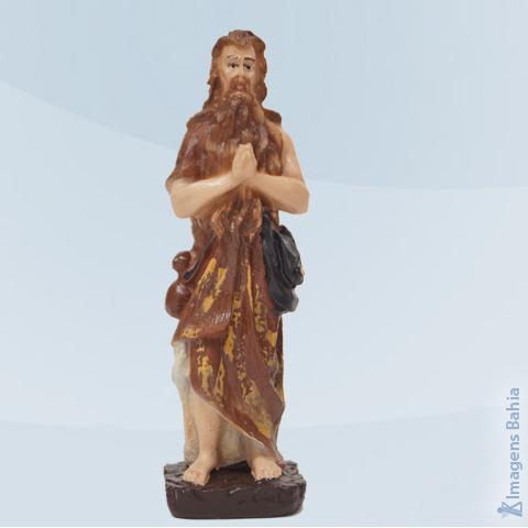 Santo Onofre em resina, 10cm