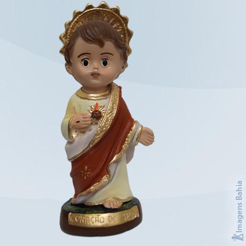 Coração De Jesus linha Infantil, 15cm