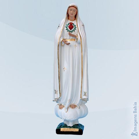 Imagem de Nossa Senhora de Fátima Sagrado Coração