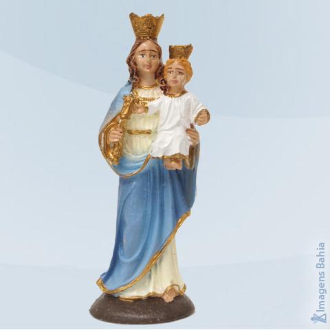 Imagem de Nossa Senhora Auxiliadora em resina