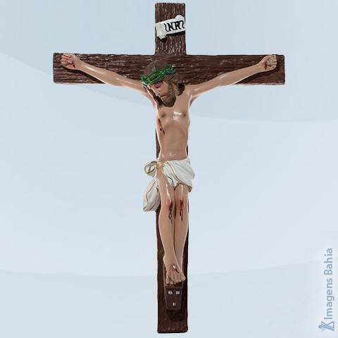 Imagem de Crucifixo Gesso