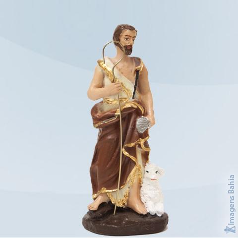 Imagem de São João Batista em resina