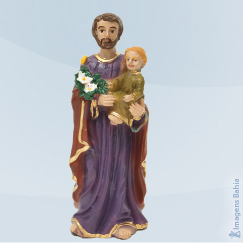 Imagem de São José em resina