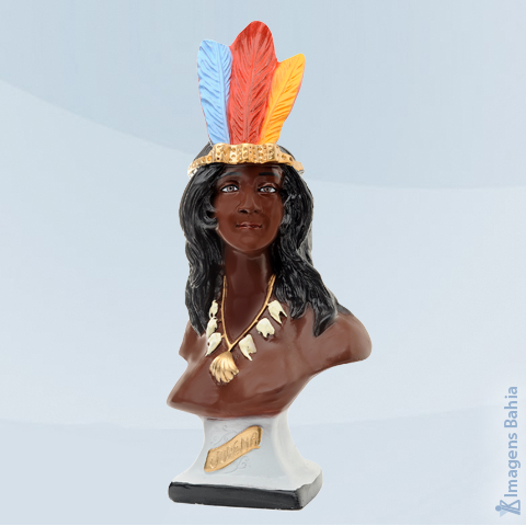 Cabocla Jurema (Busto), 18cm