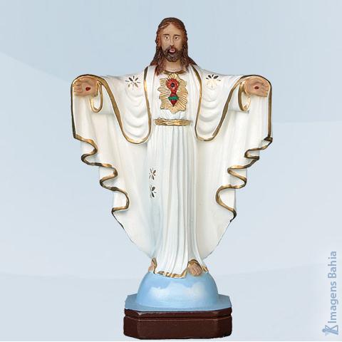 Imagem de Cristo Redentor (Manto Branco)
