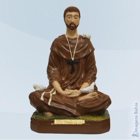 Imagem de São Francisco meditando