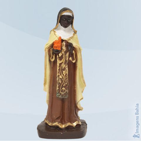 Imagem de Santa Efigênia em resina