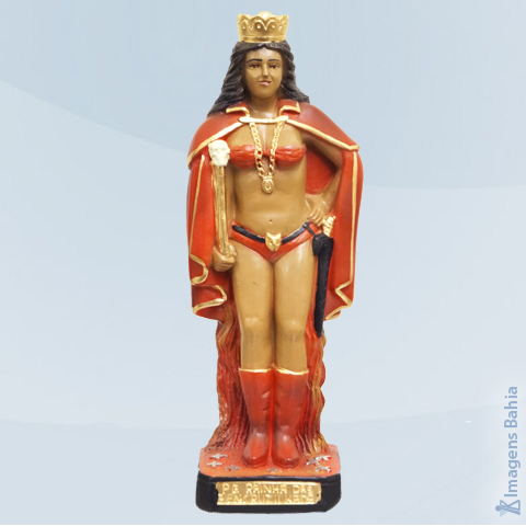 Pomba Gira Rainha das Sete Encruzilhadas, 20cm