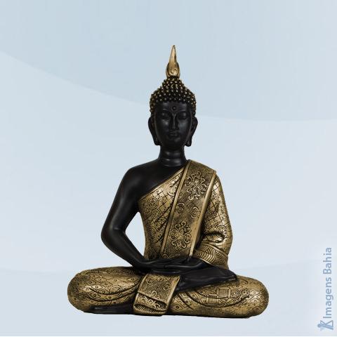 Imagem de Buda Parede Bali dourado