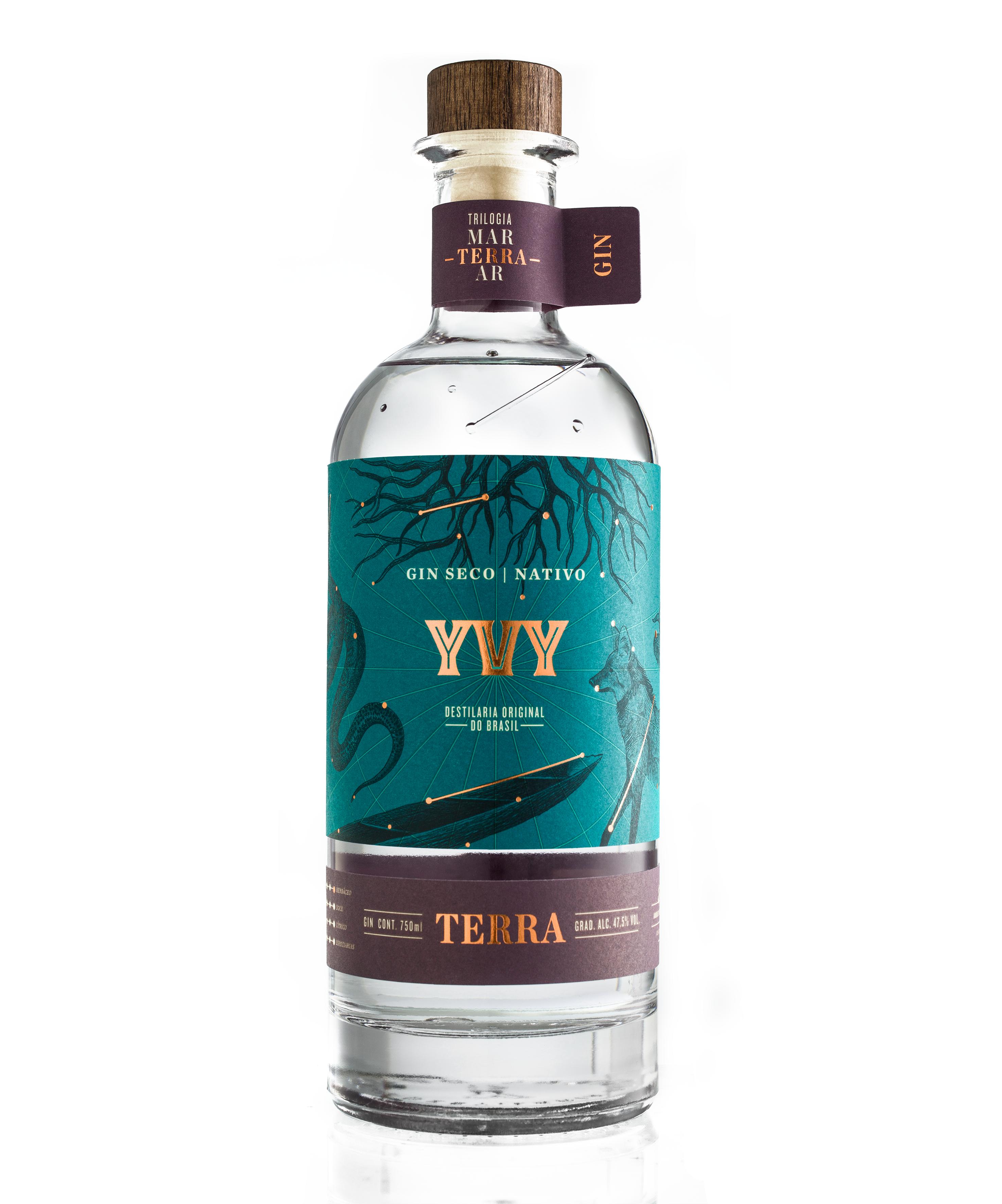 Gin Yvy Terra - 750 ml