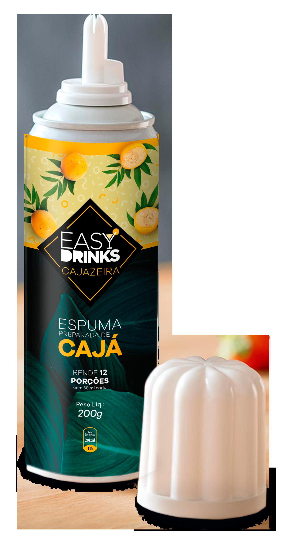 Espuma de Cajá Spray 200grs