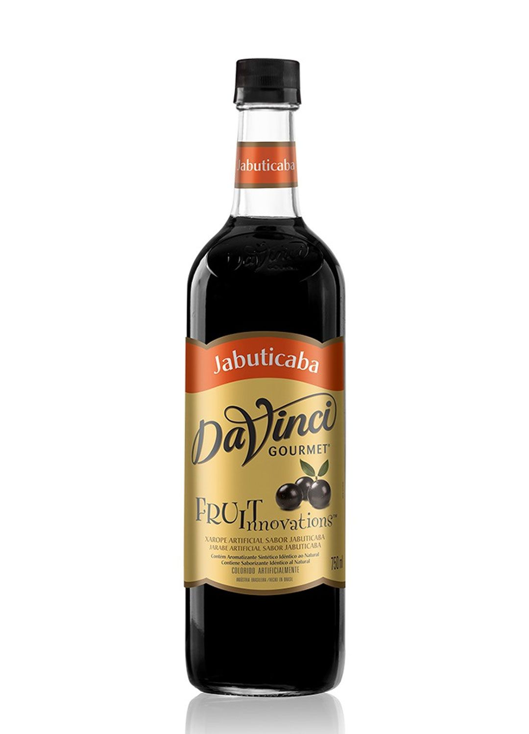 Xarope p/ Drinks Da Vinci - Jabuticaba - 750 ml