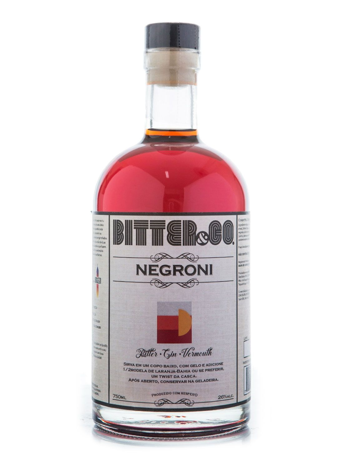 NEGRONI - BITTER & CO - 750 ML