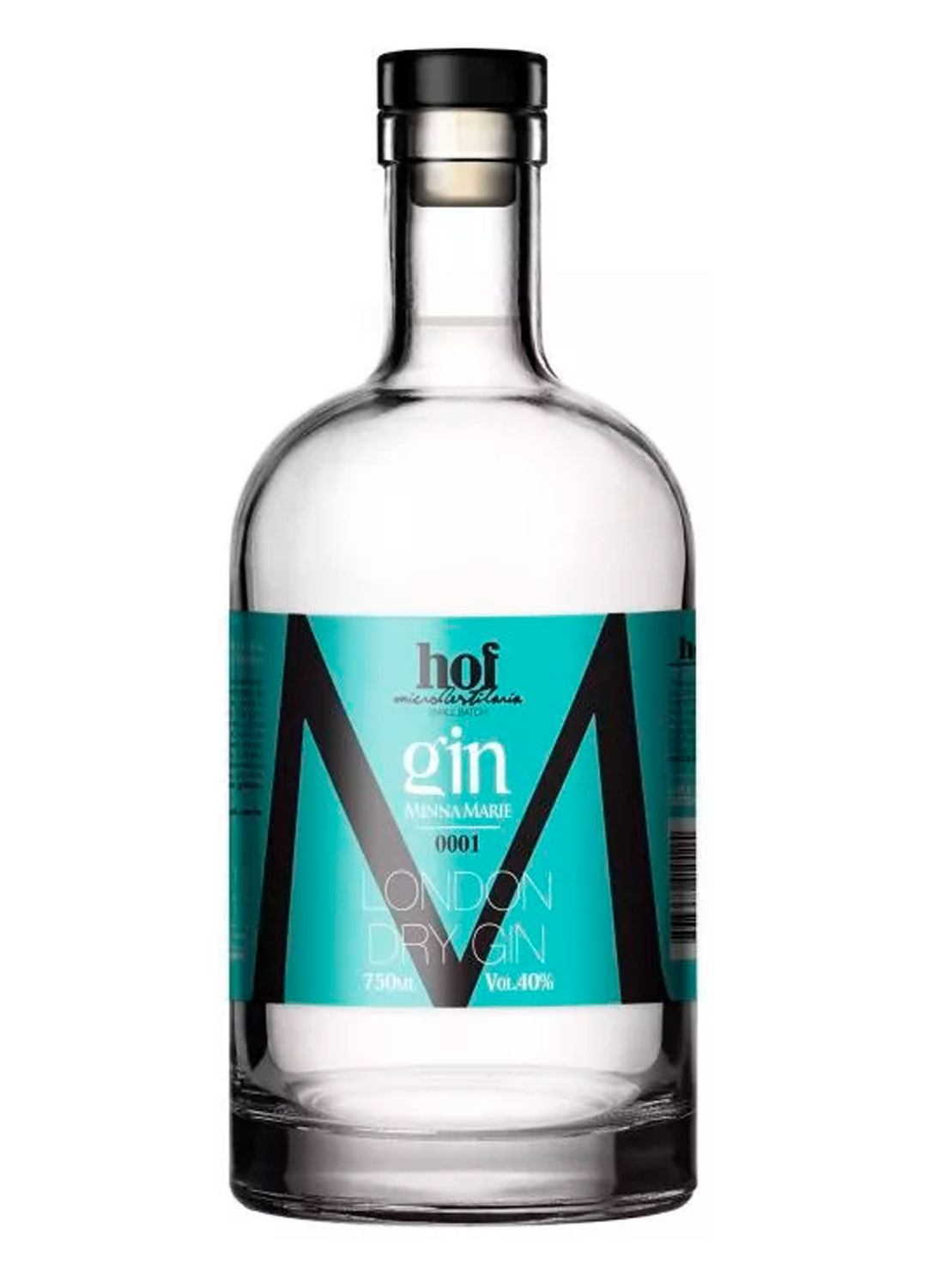 GIN MINNA MARIE - LONDON DRY GIN CRISTAL - 700 ML