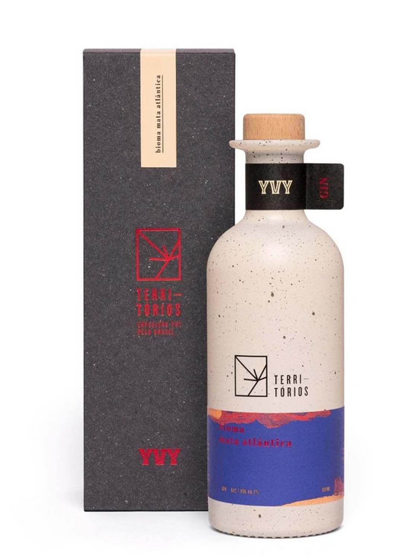 Gin Yvy Bioma Mata Atlântica - Série Limitada - 500 ml