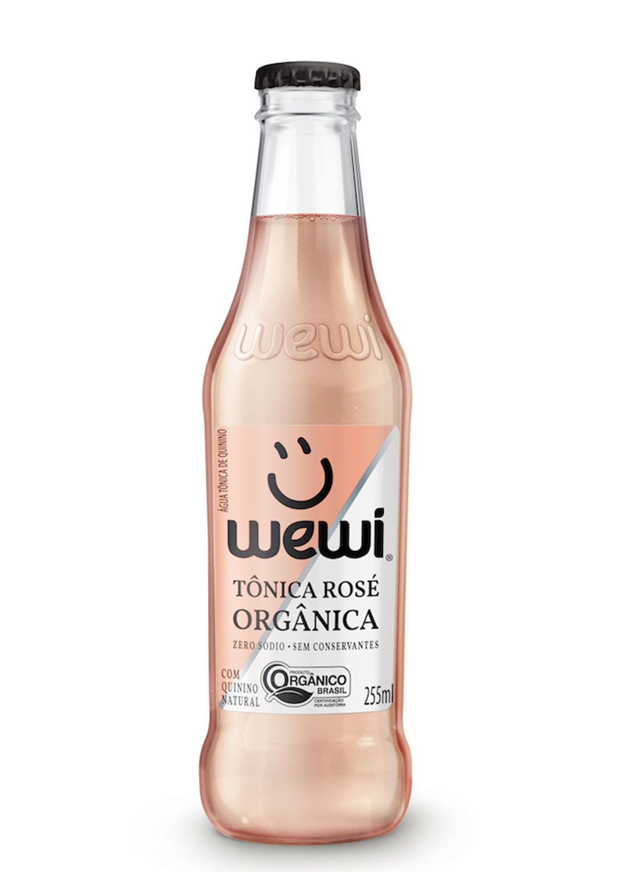 Água Tônica Wewi Orgânica - Rosé - 255 ml