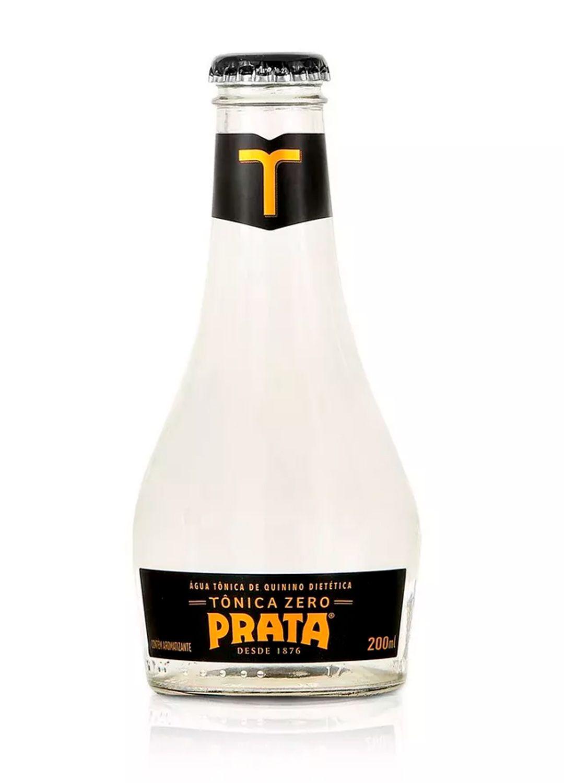 Água Tônica Prata - Zero - Garrafa - 200 ml