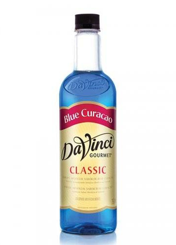 XAROPE PARA DRINKS DA VINCI - BLUE CURACAO - 750 ML
