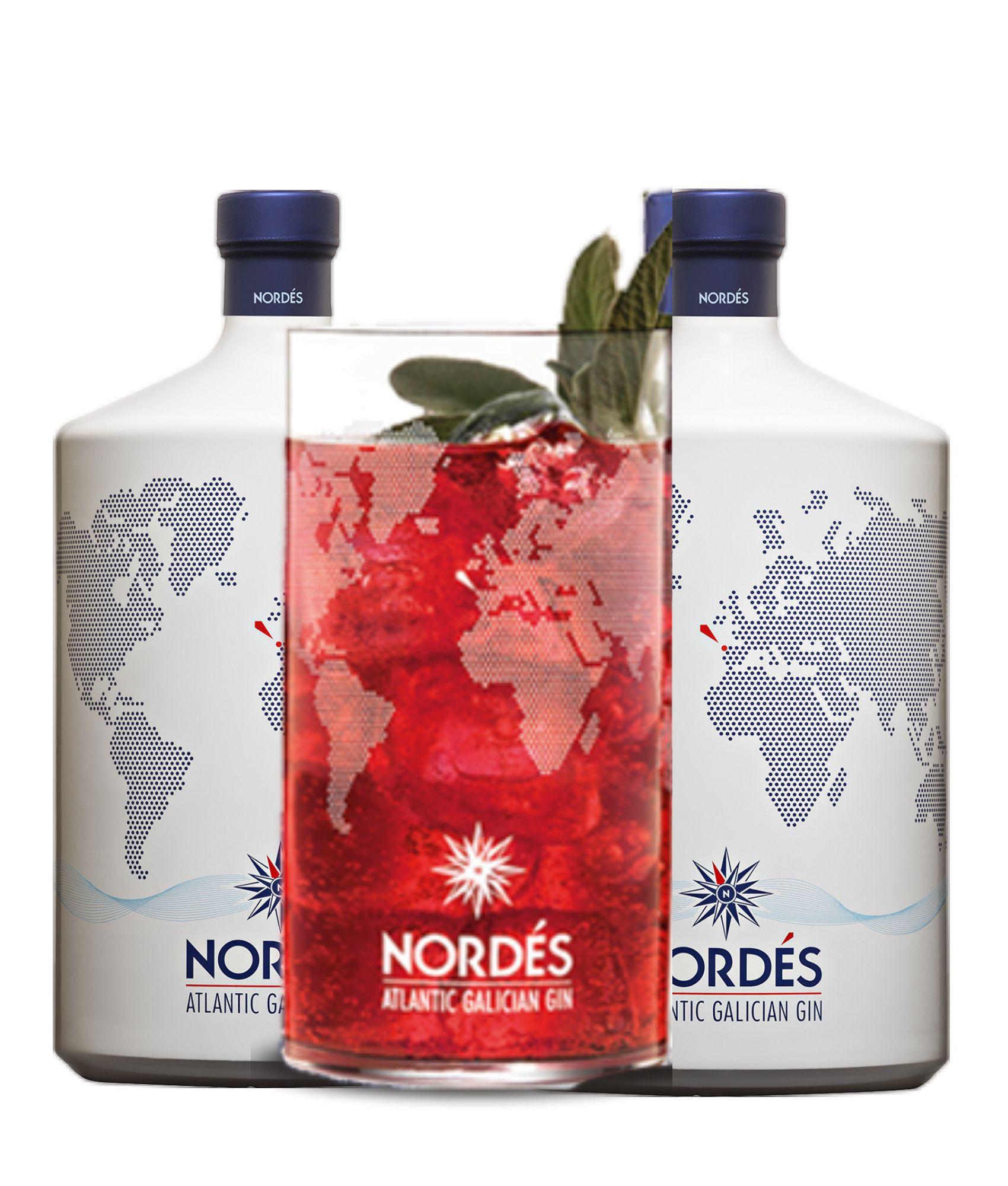 Pack Nordes com copo de cristal