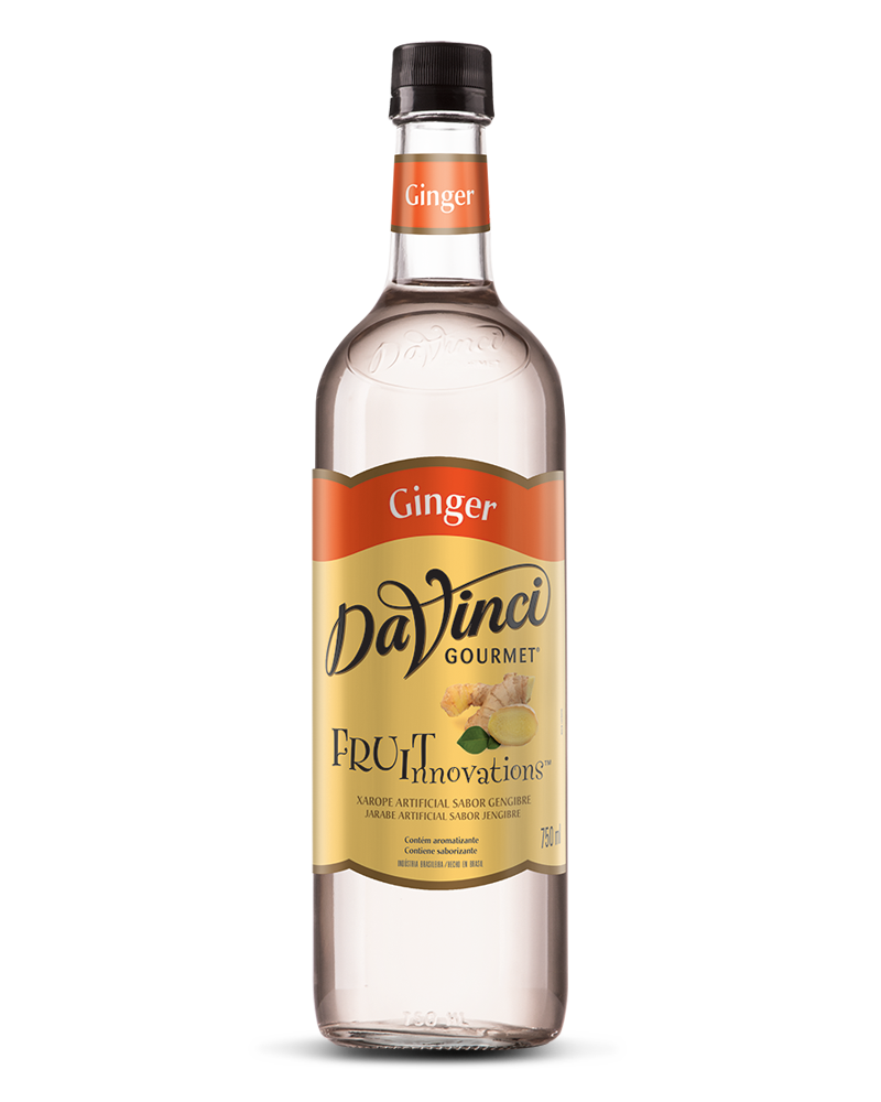 XAROPE PARA DRINKS DA VINCI - GINGER - 750 ML