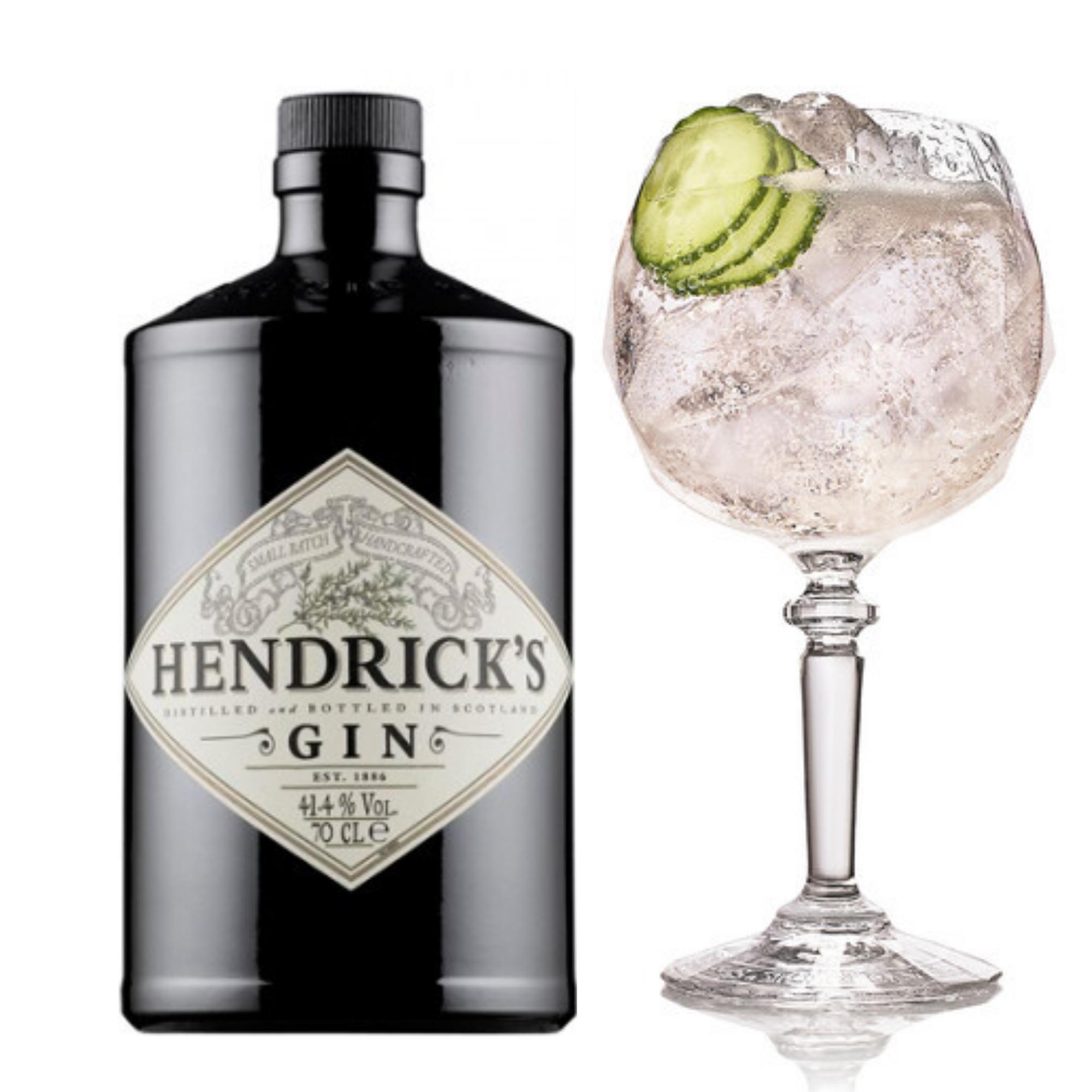 Gin Hendrick's 750 ml - com taça
