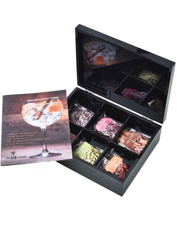 KIT GIN TONICA - SHINE BOX PRETA