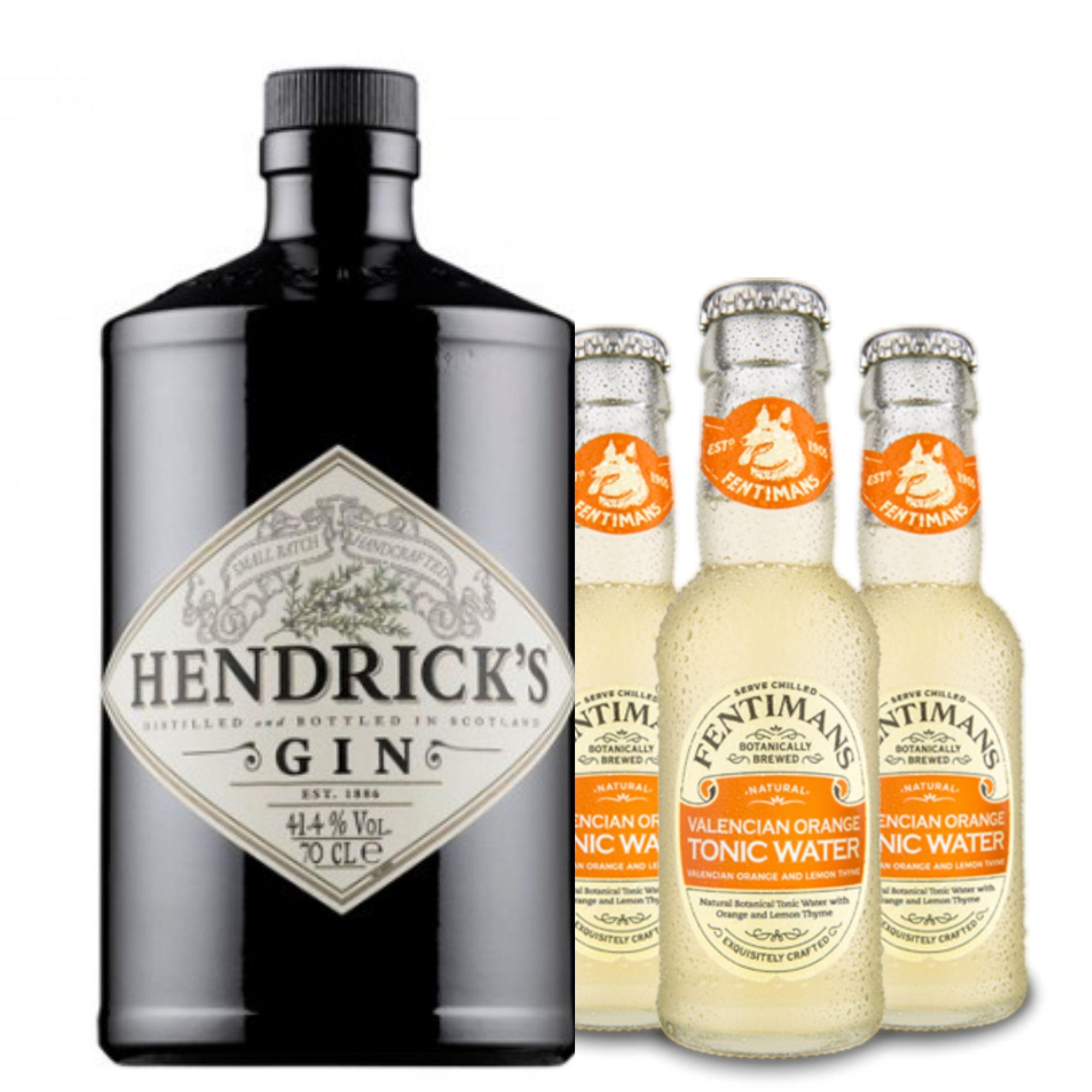 Pack Hendricks com 3 Fentimans Orange