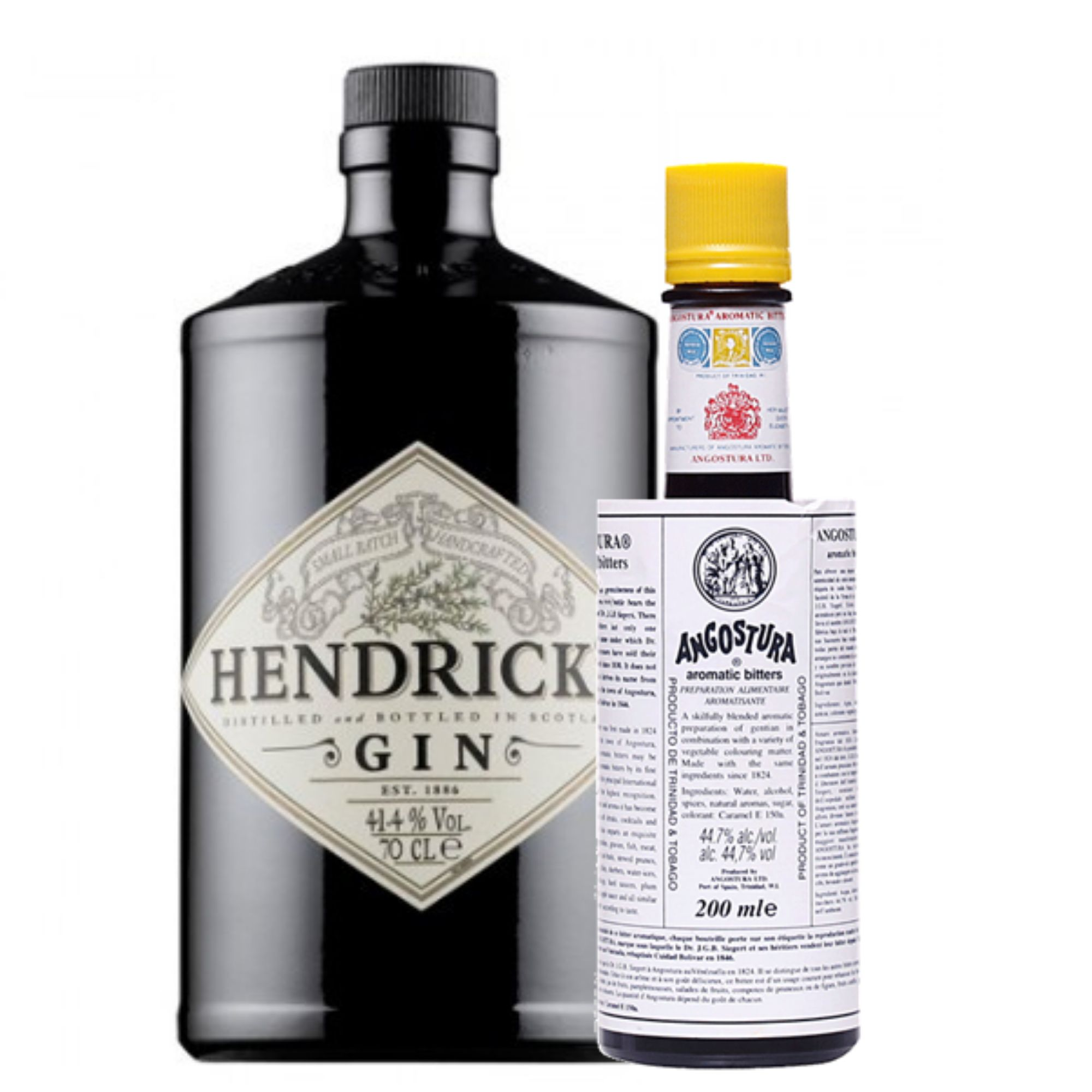 Pack Hendrick's e Angostura Aromatic 200ml