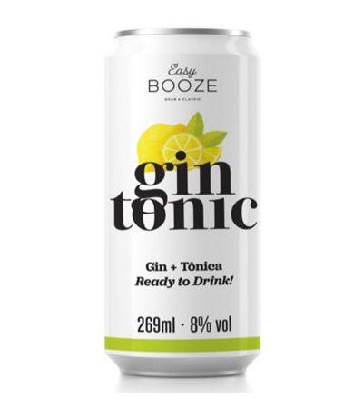 Gin Tônica Easy Booze - Lata - 269 ml