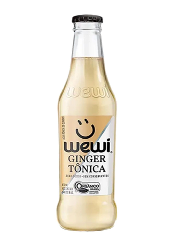 Água Tônica Wewi Orgânica - Ginger - 255 ml