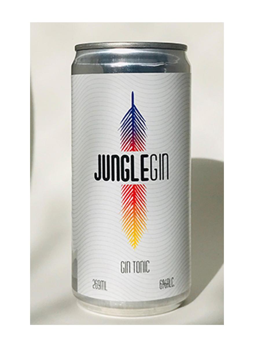 Gin Tônica Jungle Gin - Lata - 269 ml