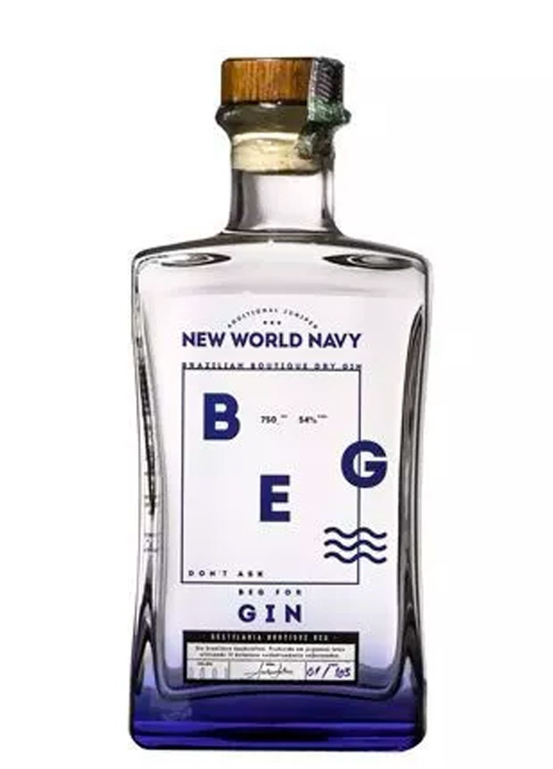 GIN BEG NAVY - 750 ML