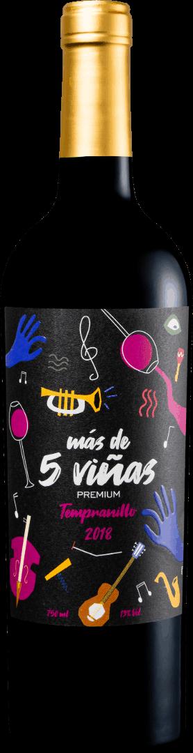 Más de Cinco Viñas Premium Tempranillo