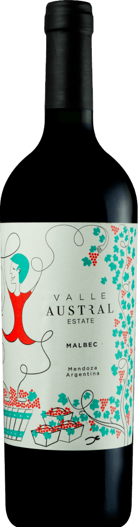 Valle Austral Estate Malbec