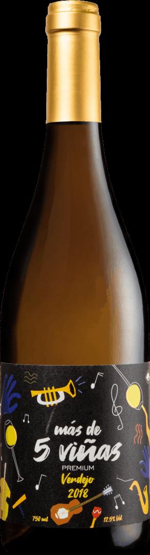 Más de Cinco Viñas Premium Verdejo
