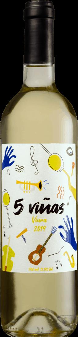 Cinco Viñas Viura Branco